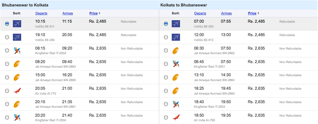 direct flights from bangalore