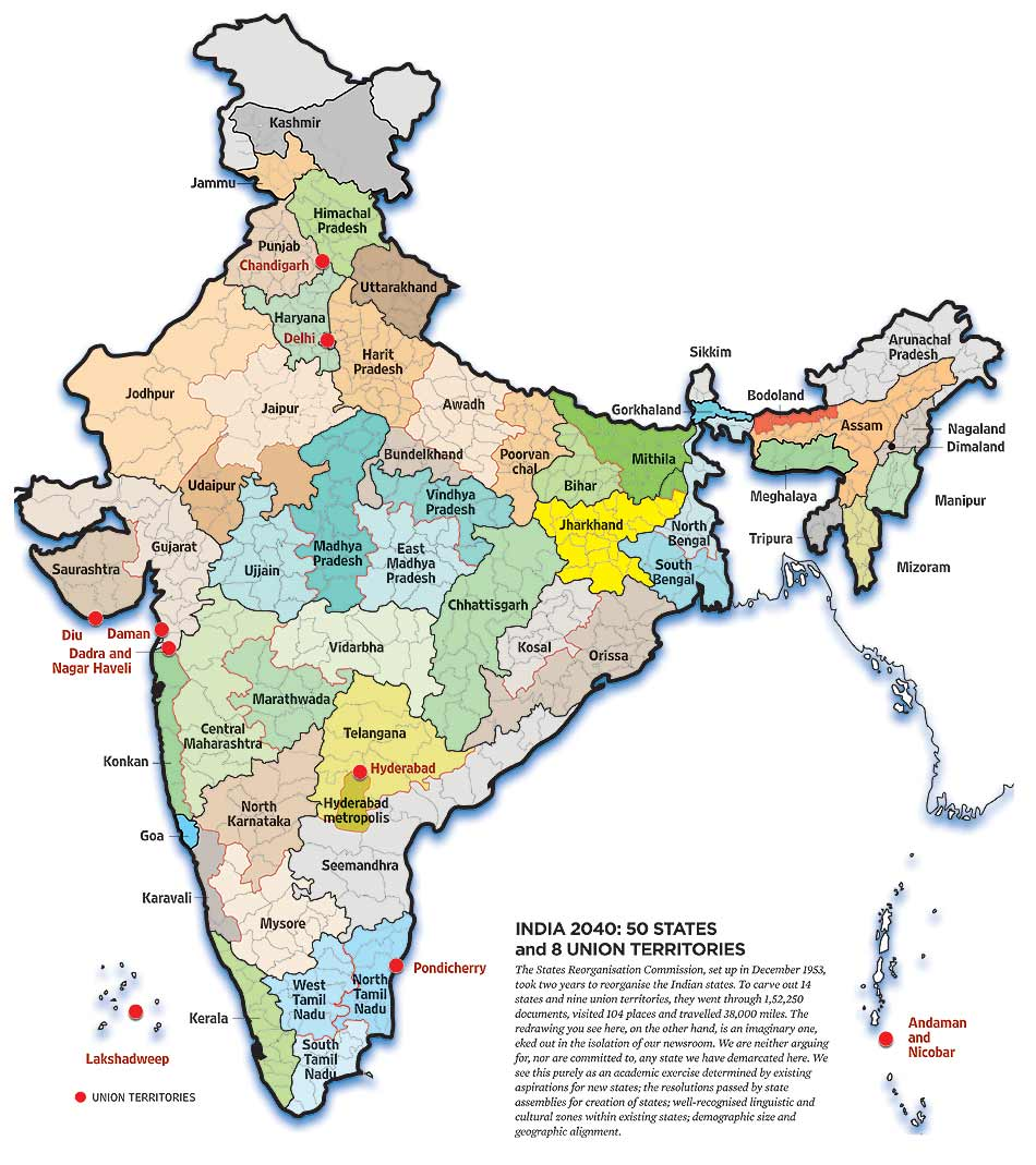 Blog Archive Food For Thought India May Have 50 States